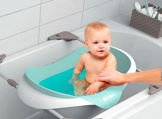 baignoire bébé sur baignoire