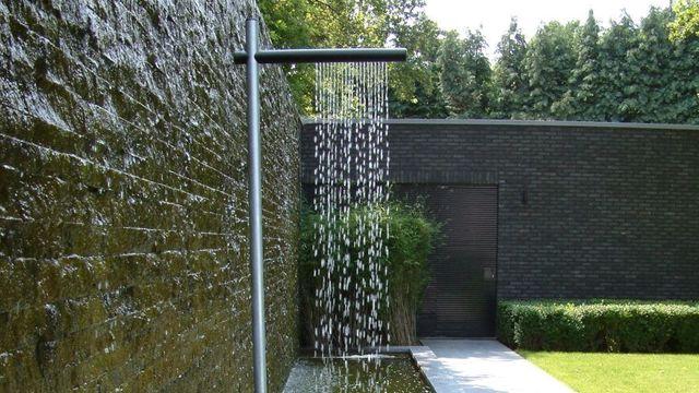 douche extérieure