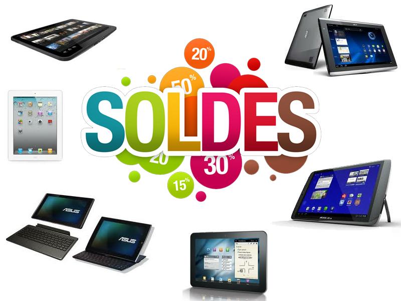 tablette solde