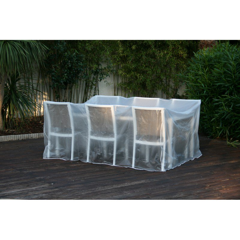 bache table jardin