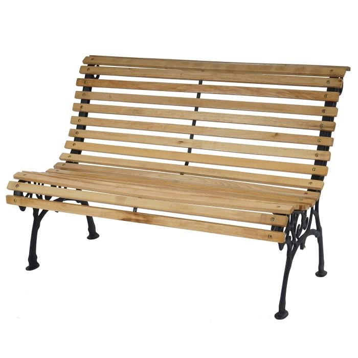 banc de jardin en bois