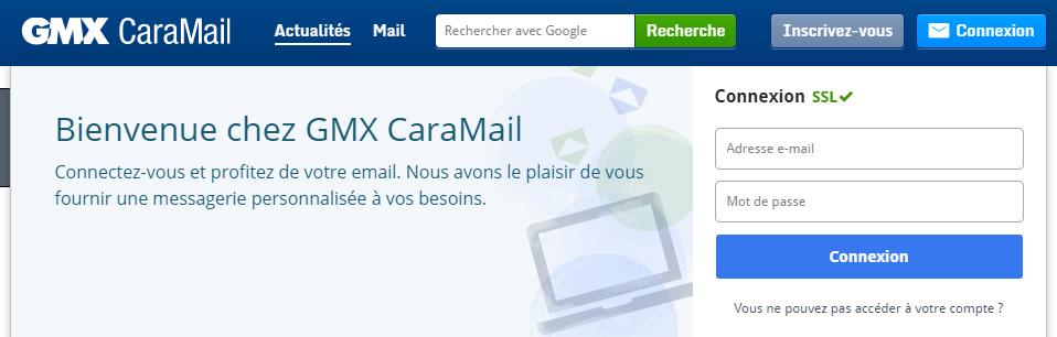 gmx caramail