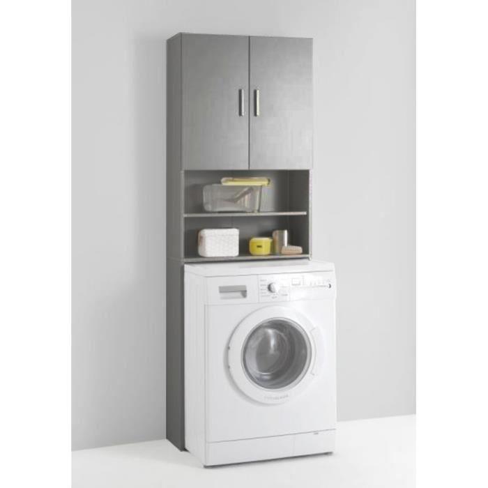 meuble sur machine à laver
