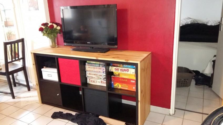 meuble tv kallax