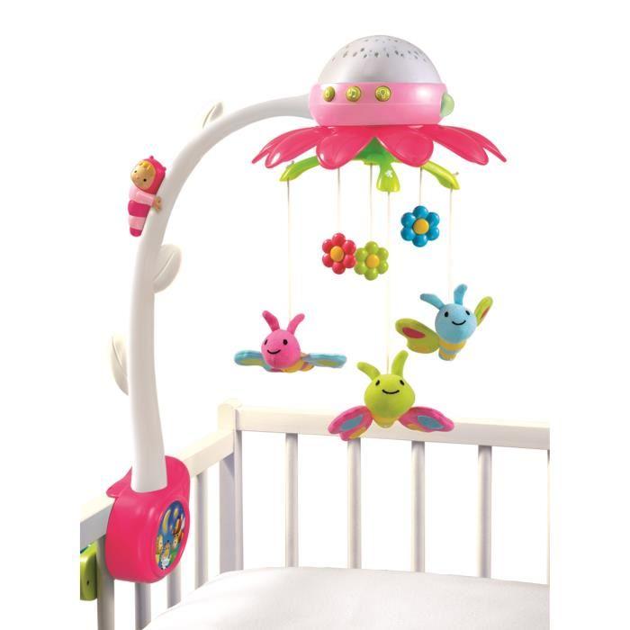 mobile bébé musical et lumineux