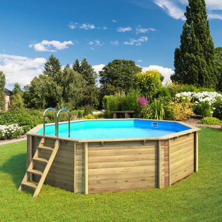 piscine en bois hors sol