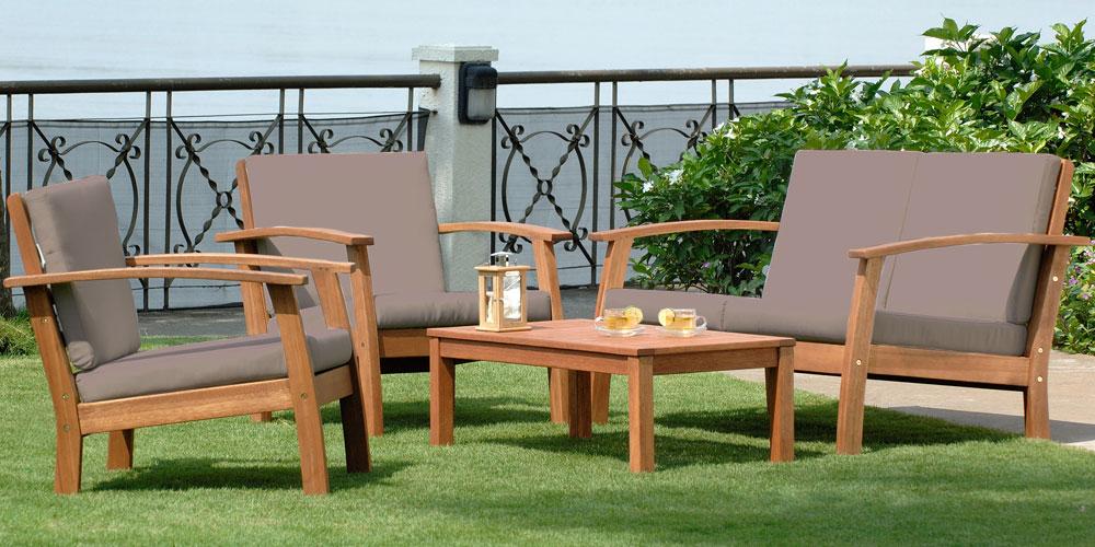 ▷ Avis Salon de jardin bois ▷ Comparatif【 Quels sont les ...