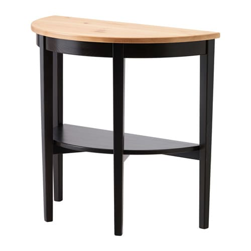 table demi lune