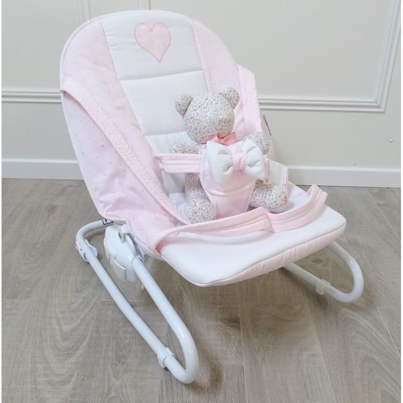 transat bebe rose