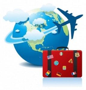 valise voyage avion