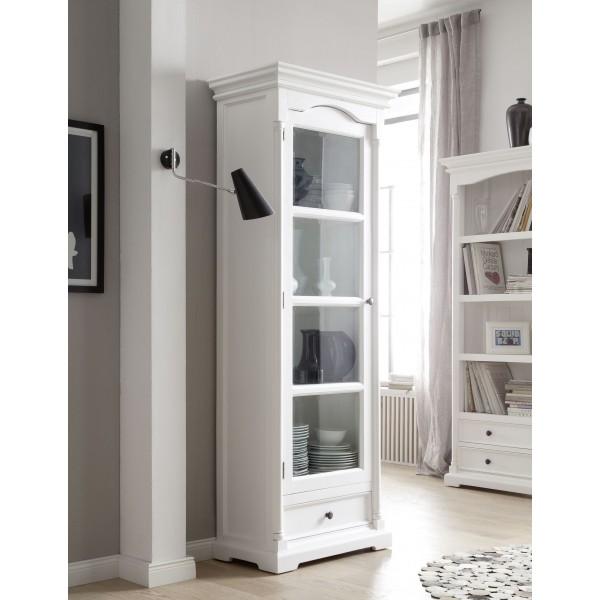 vitrine blanche