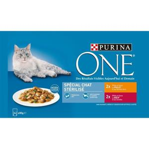 alimentation chat stérilisé