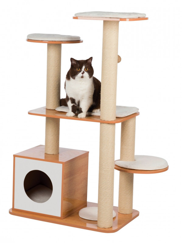 arbre à chat en bois